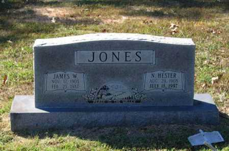JONES, NANCY HESTER - Lawrence County, Arkansas | NANCY HESTER JONES - Arkansas Gravestone Photos
