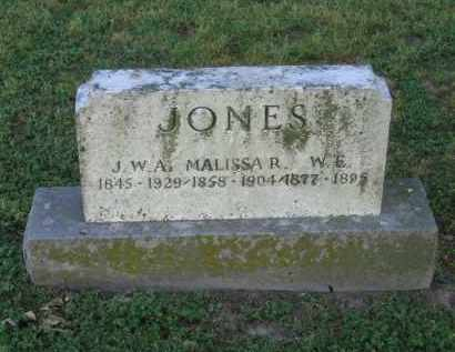 JONES, J. W. A. - Lawrence County, Arkansas | J. W. A. JONES - Arkansas Gravestone Photos
