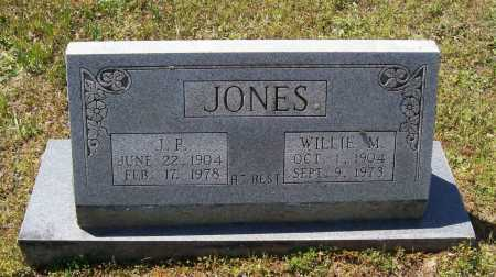 "JONES, JOHN PAUL ""J. P."" - Lawrence County, Arkansas 