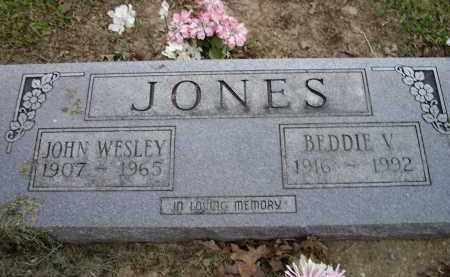 JONES, BEDDIE V. - Lawrence County, Arkansas | BEDDIE V. JONES - Arkansas Gravestone Photos