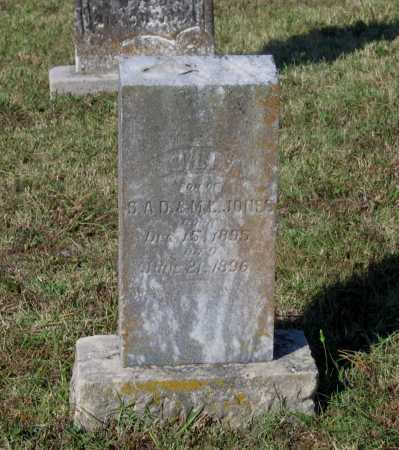 JONES, JOHN A. - Lawrence County, Arkansas | JOHN A. JONES - Arkansas Gravestone Photos