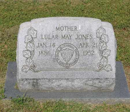 JONES, LULAR MAY - Lawrence County, Arkansas | LULAR MAY JONES - Arkansas Gravestone Photos