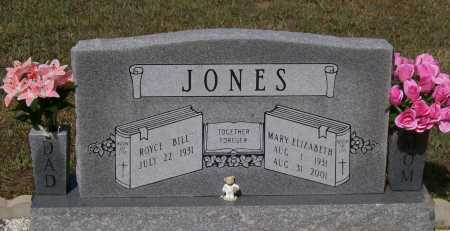 THOMAS JONES, MARY ELIZABETH - Lawrence County, Arkansas | MARY ELIZABETH THOMAS JONES - Arkansas Gravestone Photos