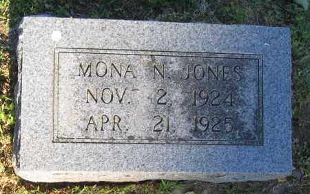 JONES, MONA N. - Lawrence County, Arkansas | MONA N. JONES - Arkansas Gravestone Photos