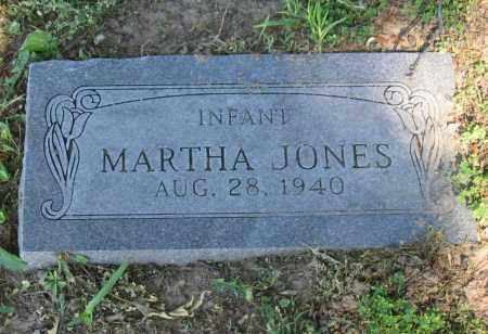JONES, MARTHA - Lawrence County, Arkansas | MARTHA JONES - Arkansas Gravestone Photos