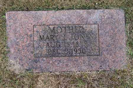 JONES, MARY J. - Lawrence County, Arkansas | MARY J. JONES - Arkansas Gravestone Photos