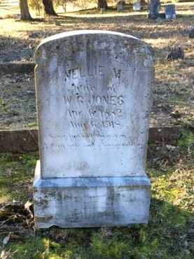 MCLAUGHLIN JONES, NELLIE - Lawrence County, Arkansas | NELLIE MCLAUGHLIN JONES - Arkansas Gravestone Photos