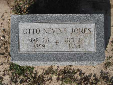 JONES, OTTO NEVINS - Lawrence County, Arkansas | OTTO NEVINS JONES - Arkansas Gravestone Photos