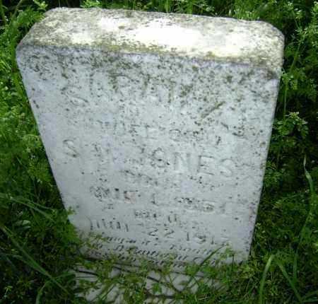 JONES, SARAH A. - Lawrence County, Arkansas | SARAH A. JONES - Arkansas Gravestone Photos