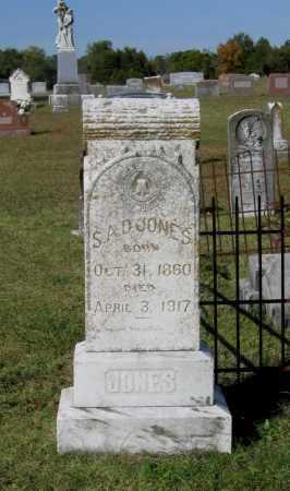 "JONES, STEPHEN ARNOLD DOUGLAS ""S.A.D."" - Lawrence County, Arkansas | STEPHEN ARNOLD DOUGLAS ""S.A.D."" JONES - Arkansas Gravestone Photos"
