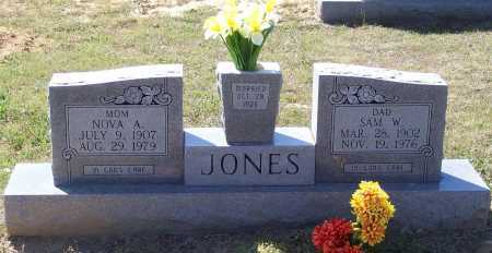 JONES, NOVA A. - Lawrence County, Arkansas | NOVA A. JONES - Arkansas Gravestone Photos