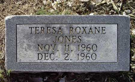 JONES, TERESA ROXANE - Lawrence County, Arkansas | TERESA ROXANE JONES - Arkansas Gravestone Photos