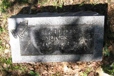 HOLDER JONES, VERA - Lawrence County, Arkansas | VERA HOLDER JONES - Arkansas Gravestone Photos