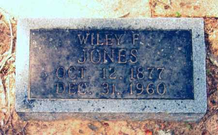 JONES, WILEY F. - Lawrence County, Arkansas | WILEY F. JONES - Arkansas Gravestone Photos