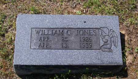 JONES, WILLIAM G. - Lawrence County, Arkansas | WILLIAM G. JONES - Arkansas Gravestone Photos