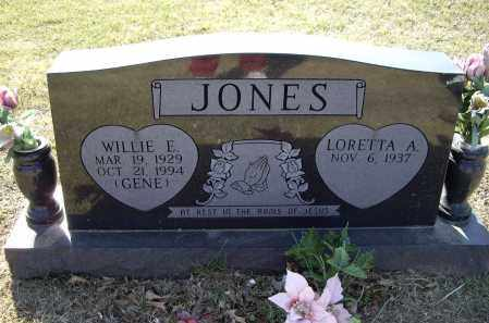 "JONES, WILLIE EUGENE ""GENE"" - Lawrence County, Arkansas 