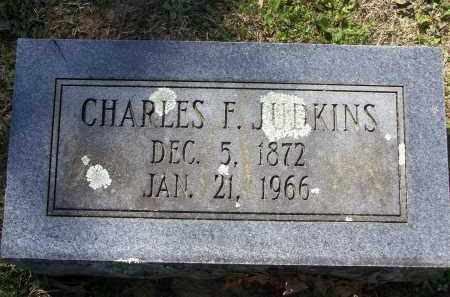JUDKINS, CHARLES FISHER - Lawrence County, Arkansas | CHARLES FISHER JUDKINS - Arkansas Gravestone Photos