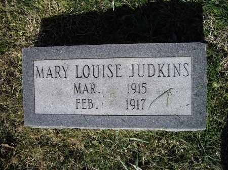JUDKINS, MARY LOUISE - Lawrence County, Arkansas | MARY LOUISE JUDKINS - Arkansas Gravestone Photos