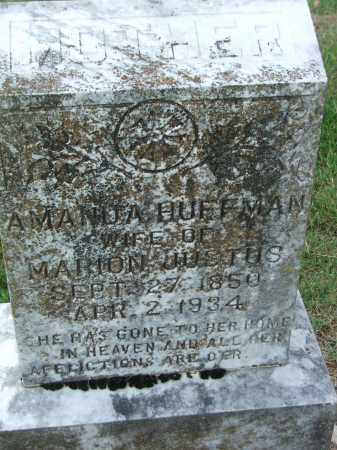 HUFFMAN JUSTUS, AMANDA F. - Lawrence County, Arkansas | AMANDA F. HUFFMAN JUSTUS - Arkansas Gravestone Photos