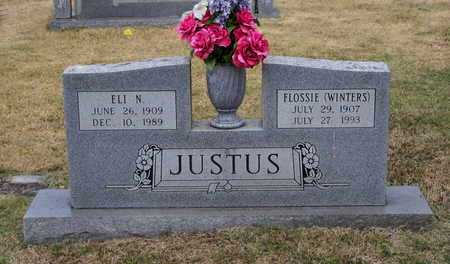 JUSTUS, FLOSSIE C. - Lawrence County, Arkansas | FLOSSIE C. JUSTUS - Arkansas Gravestone Photos