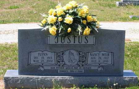 WEIR JUSTUS, NANCY JANE - Lawrence County, Arkansas | NANCY JANE WEIR JUSTUS - Arkansas Gravestone Photos