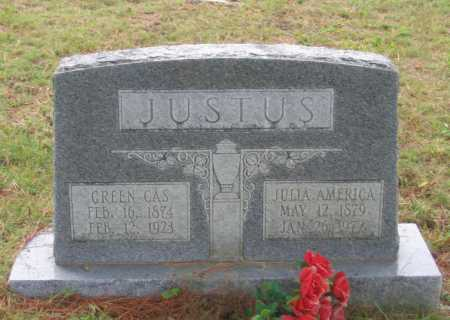 "JUSTUS, GREEN CASE B. ""GREEN CAS"" - Lawrence County, Arkansas 
