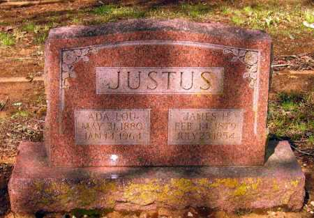 "JUSTUS, MARY LOUADA ""ADA LOU"" - Lawrence County, Arkansas 