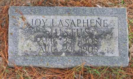 JUSTUS, JOY LASAPHENE - Lawrence County, Arkansas   JOY LASAPHENE JUSTUS - Arkansas Gravestone Photos