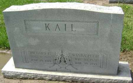 PUGH KAIL, ETTA WANDA - Lawrence County, Arkansas | ETTA WANDA PUGH KAIL - Arkansas Gravestone Photos