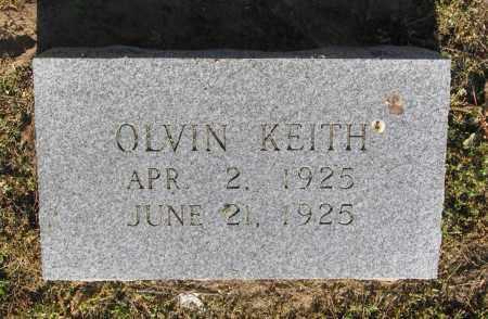 KEITH, OLVIN - Lawrence County, Arkansas | OLVIN KEITH - Arkansas Gravestone Photos