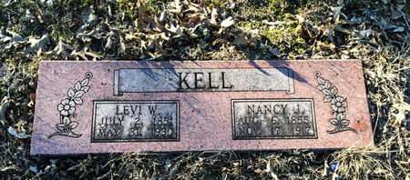 ALEXANDER KELL, NANCY JANE - Lawrence County, Arkansas | NANCY JANE ALEXANDER KELL - Arkansas Gravestone Photos