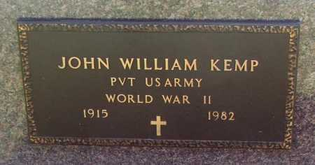 KEMP (VETERAN WWII), JOHN WILLIAM - Lawrence County, Arkansas | JOHN WILLIAM KEMP (VETERAN WWII) - Arkansas Gravestone Photos