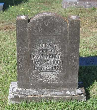 KENDALL, DORA V. - Lawrence County, Arkansas | DORA V. KENDALL - Arkansas Gravestone Photos