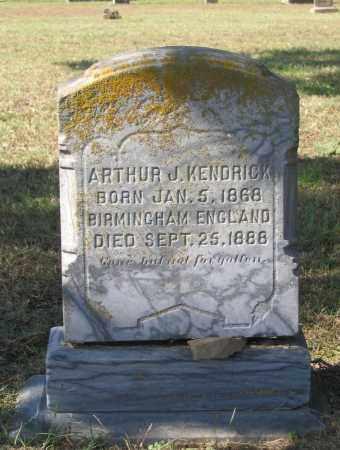 KENDRICK, ARTHUR J. - Lawrence County, Arkansas | ARTHUR J. KENDRICK - Arkansas Gravestone Photos