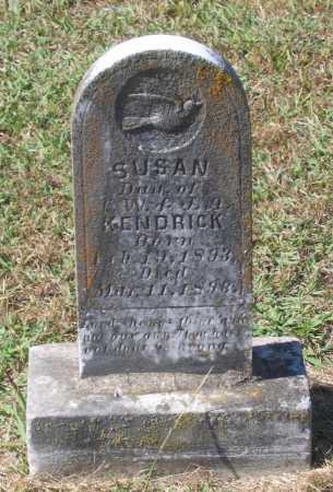 KENDRICK, SUSAN FRANCES - Lawrence County, Arkansas | SUSAN FRANCES KENDRICK - Arkansas Gravestone Photos