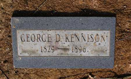 KENNISON, GEORGE D. - Lawrence County, Arkansas | GEORGE D. KENNISON - Arkansas Gravestone Photos