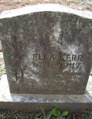 KERR, ELLA - Lawrence County, Arkansas | ELLA KERR - Arkansas Gravestone Photos