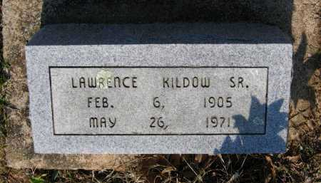 KILDOW, SR., LAWRENCE EDWARD - Lawrence County, Arkansas | LAWRENCE EDWARD KILDOW, SR. - Arkansas Gravestone Photos