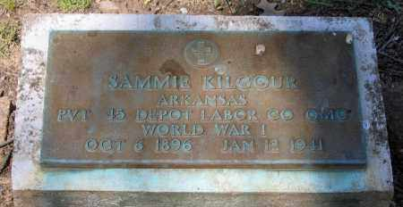 KILGOUR (VETERAN WWI), SAMMIE - Lawrence County, Arkansas | SAMMIE KILGOUR (VETERAN WWI) - Arkansas Gravestone Photos