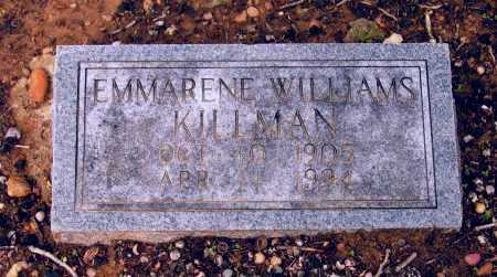 KILLMAN, EMMARENE - Lawrence County, Arkansas | EMMARENE KILLMAN - Arkansas Gravestone Photos