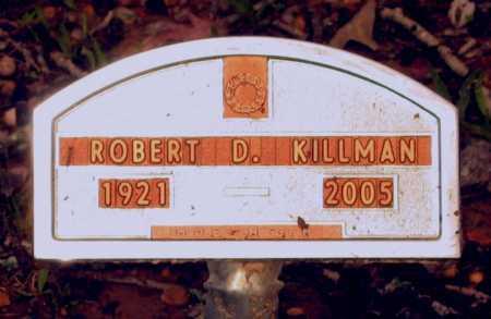KILLMAN, ROBERT D. - Lawrence County, Arkansas | ROBERT D. KILLMAN - Arkansas Gravestone Photos