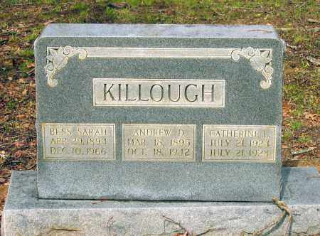 KILLOUGH, ANDREW DAVID - Lawrence County, Arkansas | ANDREW DAVID KILLOUGH - Arkansas Gravestone Photos