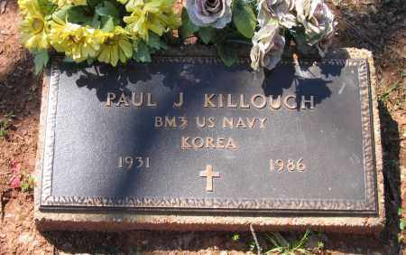 KILLOUGH (VETERAN KOR), PAUL J. - Lawrence County, Arkansas | PAUL J. KILLOUGH (VETERAN KOR) - Arkansas Gravestone Photos