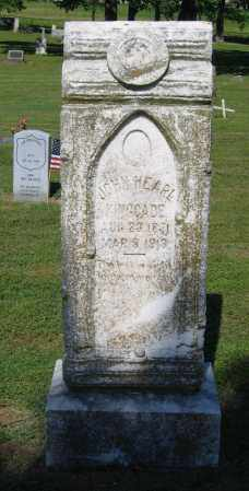 KINGCADE, JOHN HEARL - Lawrence County, Arkansas | JOHN HEARL KINGCADE - Arkansas Gravestone Photos