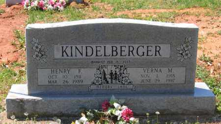 KINDELBERGER, HENRY F. - Lawrence County, Arkansas | HENRY F. KINDELBERGER - Arkansas Gravestone Photos
