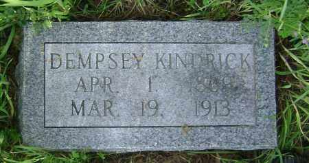 KINDRICK, DEMPSEY - Lawrence County, Arkansas | DEMPSEY KINDRICK - Arkansas Gravestone Photos