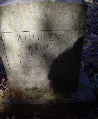 KING, ANDREW - Lawrence County, Arkansas | ANDREW KING - Arkansas Gravestone Photos