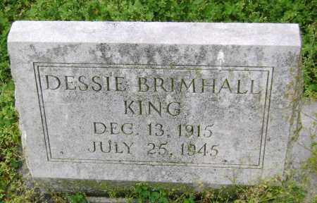 BRIMHALL KING, DESSIE - Lawrence County, Arkansas | DESSIE BRIMHALL KING - Arkansas Gravestone Photos