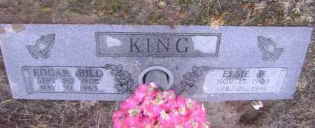 KING, EDGAR BILL - Lawrence County, Arkansas | EDGAR BILL KING - Arkansas Gravestone Photos