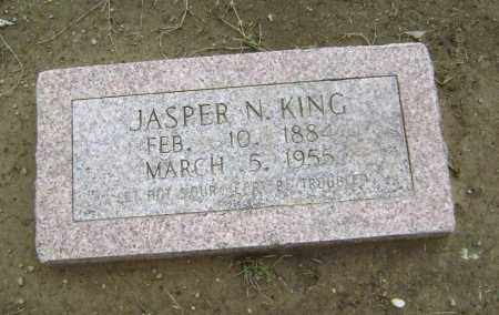 KING, JASPER NEWTON - Lawrence County, Arkansas | JASPER NEWTON KING - Arkansas Gravestone Photos